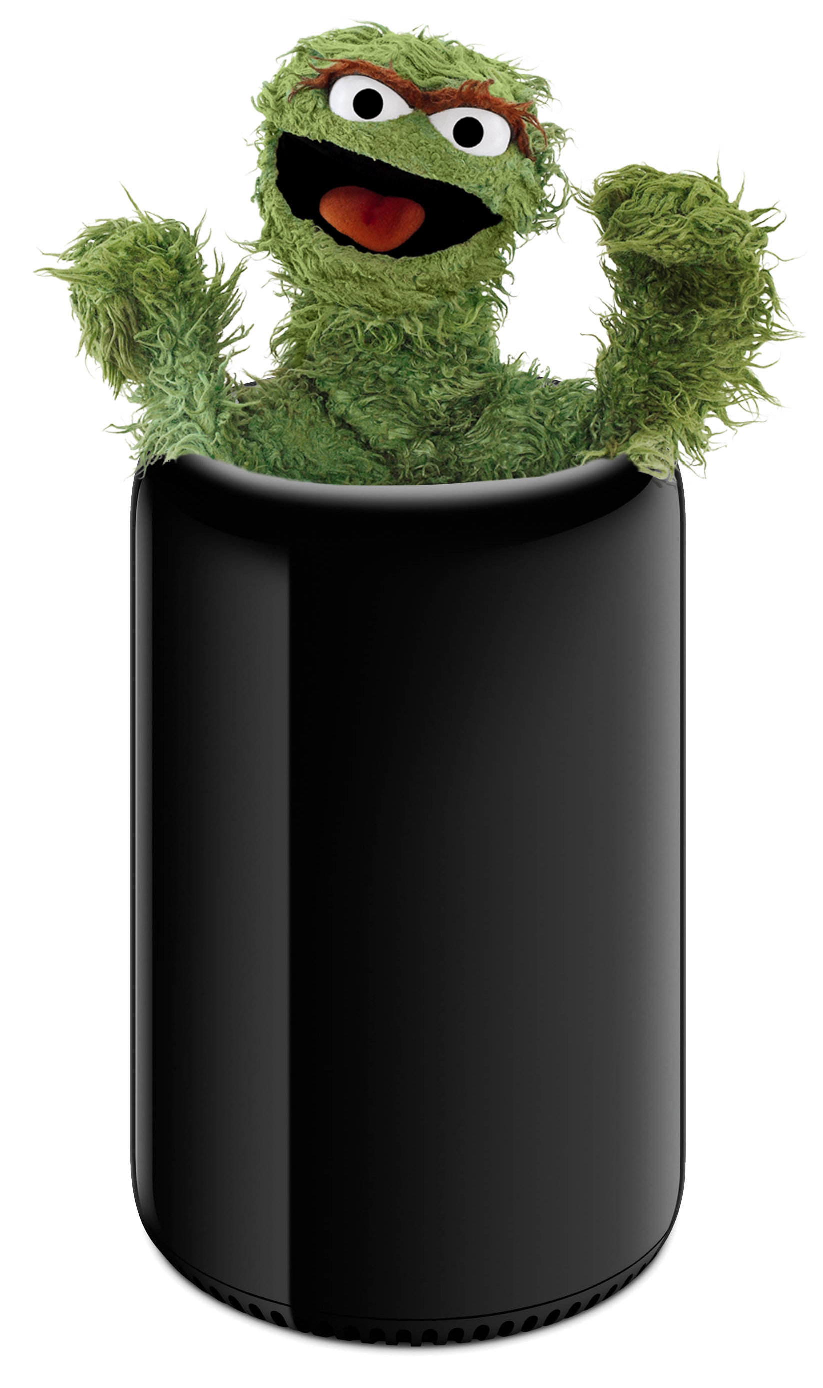 Mac Pro 2013 is Oscar's home