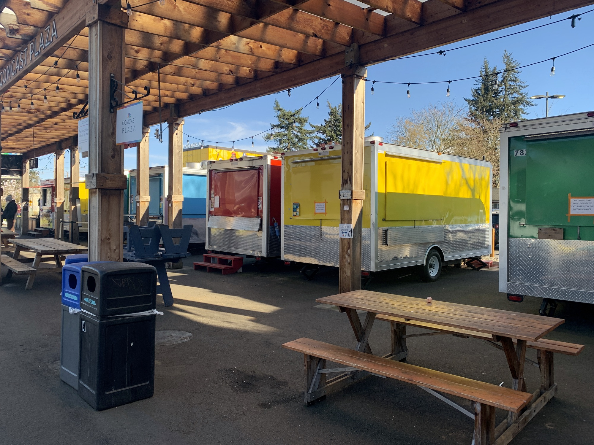 Mericado Food Carts, April 5th 2020
