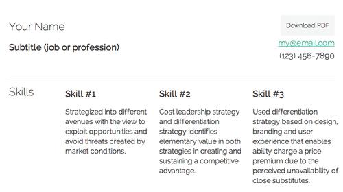 A Lightweight Elegant Resume Using Html Css Responsive Design