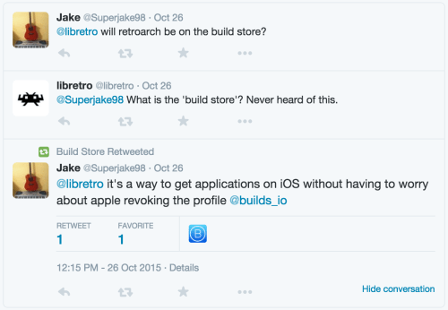 iOS Emulation, gamepads, Cydia, Xcode, builds io - A