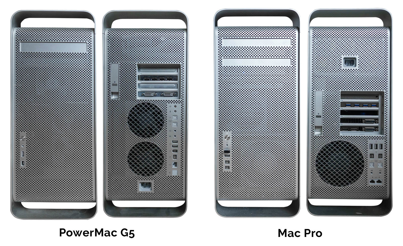 PowerMac G5 vs. Mac Pro